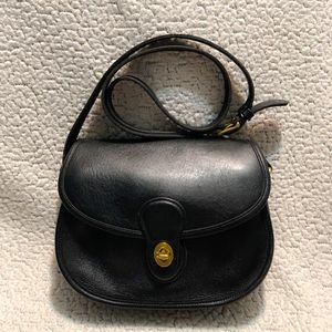 Coach Vintage Leather Prairie Crossbody Bag.